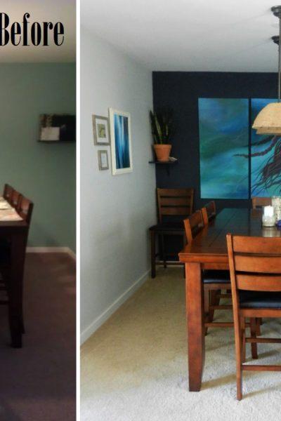 Coastal Dining Room Reveal
