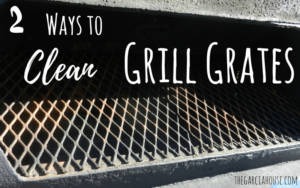 2 Ways to Clean a Grill Grate