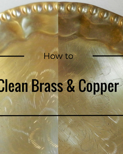 How to Clean Brass and Copper with One Simple Ingredient!
