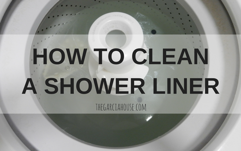 How to Wash your Shower Liner & Bathtub Mat