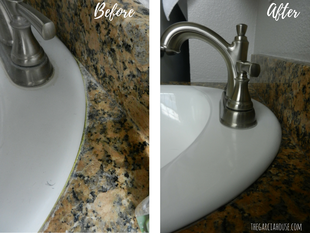 Easily Remove Hard Water Deposits