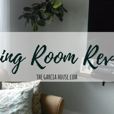 Living Room Reveal! (Before + After)