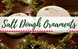 Salt Dough Ornaments–easy to make!